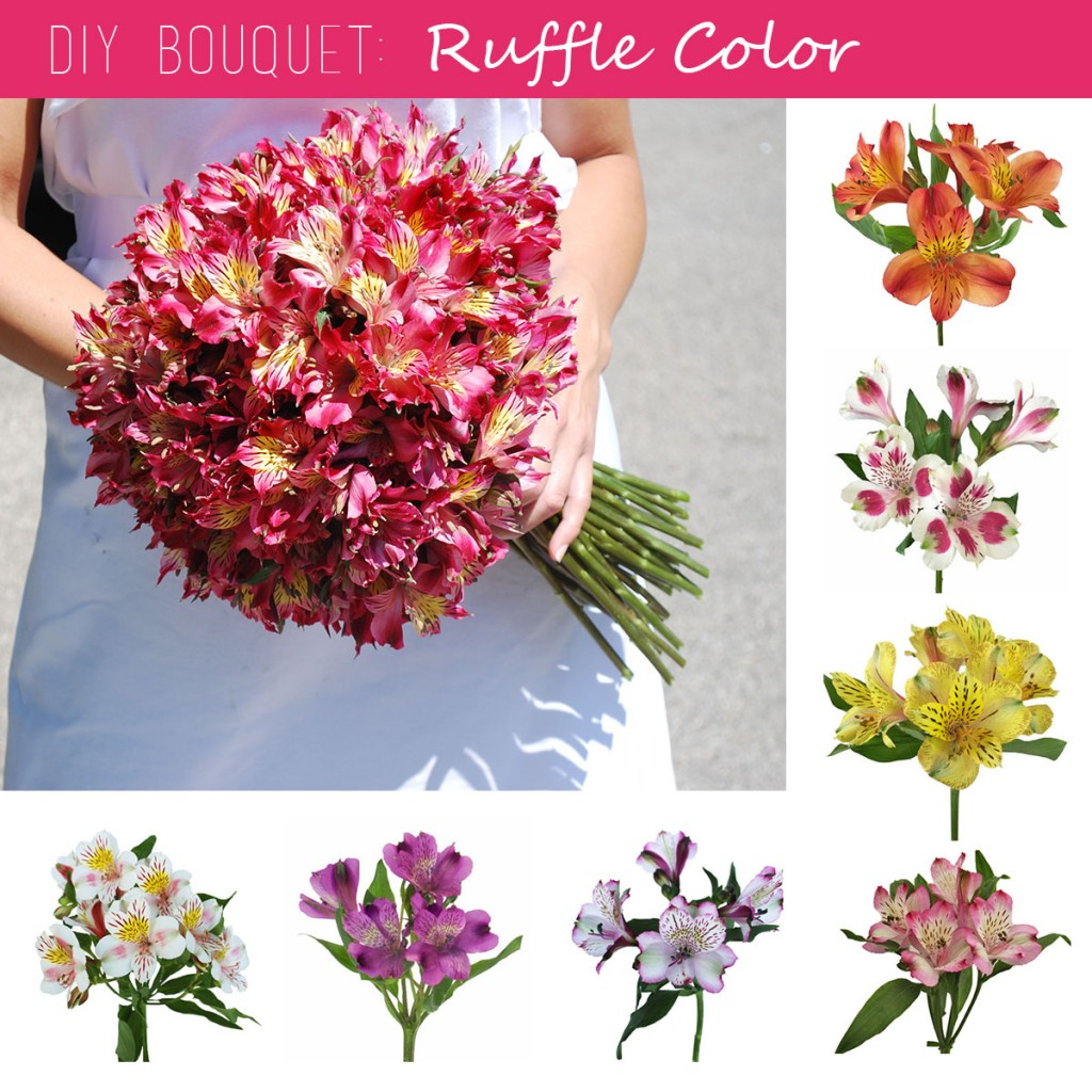 DIY Bouquet Peruvian Lily