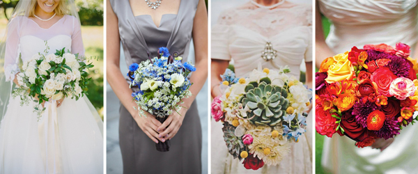 Bridal Bouquets from FiftyFlowers' Brides
