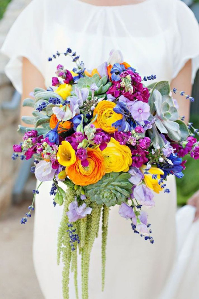 Bouquet Breakdown: Bold and Bright Wildflower Bouquet