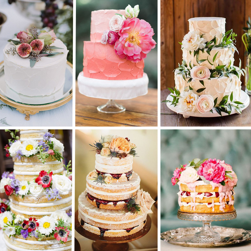 2016 Wedding Cakes - FiftyFlowers