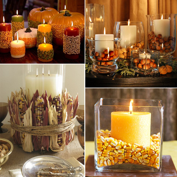 Easy thanksgiving centerpieces fiftyflowers the blog Simple thanksgiving table decorations