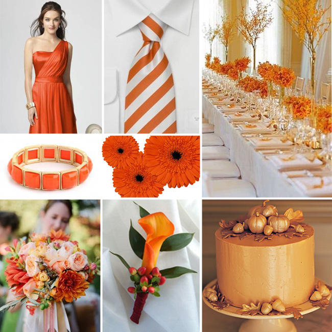 Fall Wedding Flowers Orange : Fall wedding colors fiftyflowers the