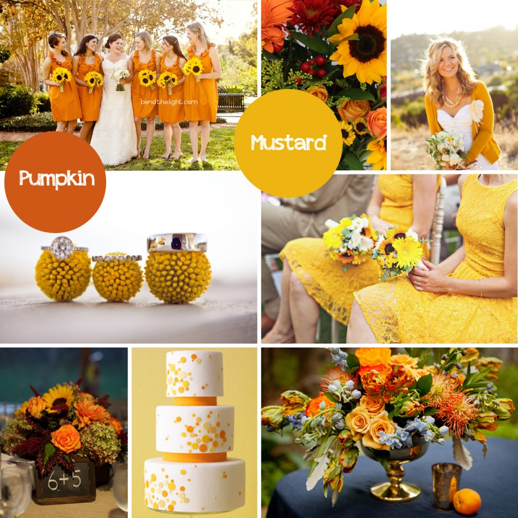 Fall Color Palette - Pumpkin + Mustard