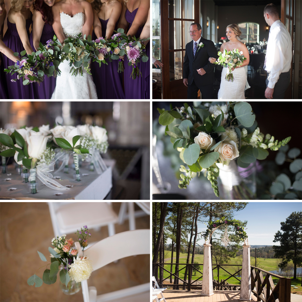 Featured FiftyFlowers Review - Winery Wedding in East Texas