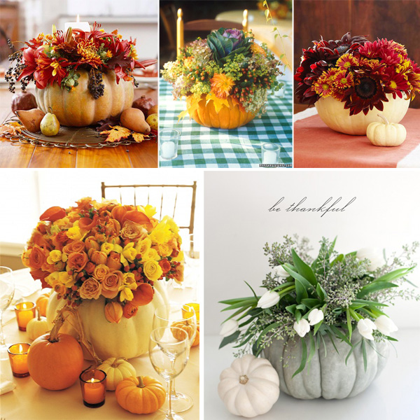 Floral Pumpkins