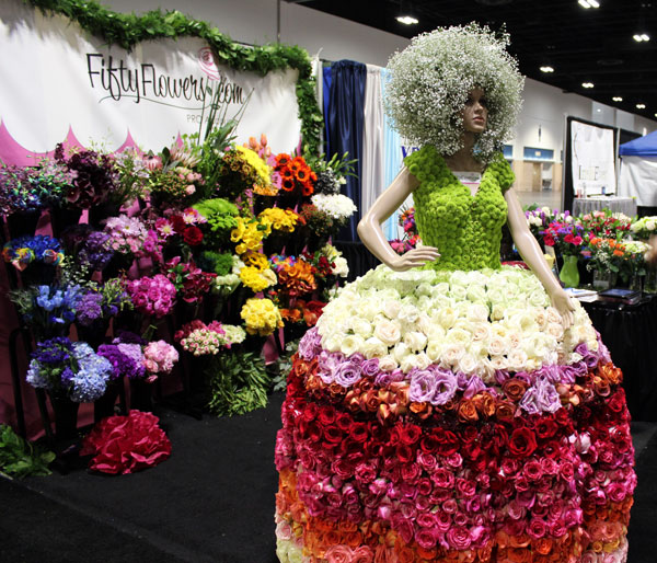 GiGi and the FiftyFlowers Booth