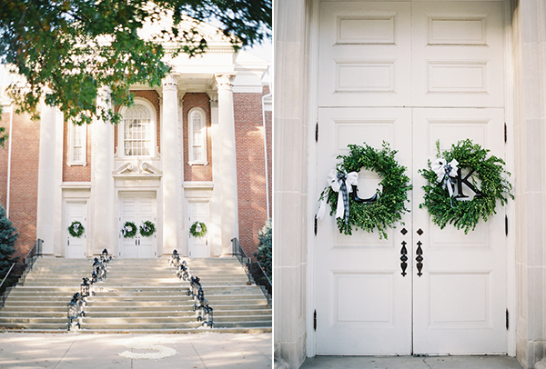 Greet Guests with Wreaths