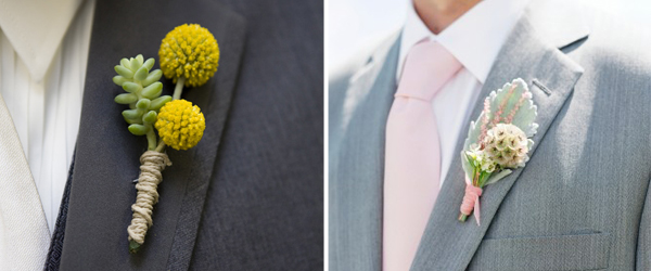 Groom Boutonniere Ideas