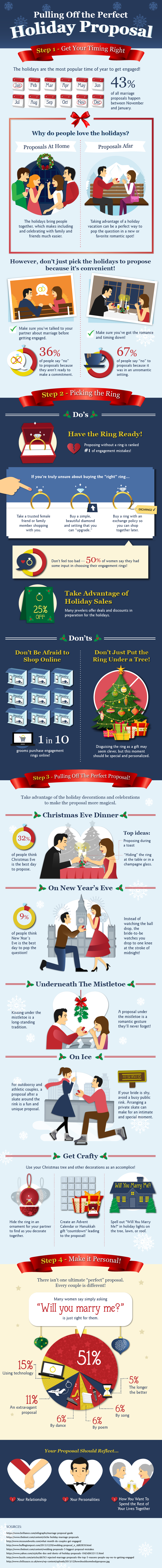 FiftyFlowers Holiday Proposal Guide
