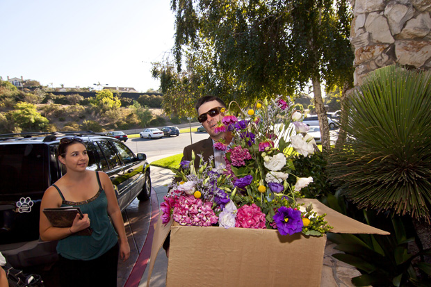 Lily and Boyfriend GregTransporting Flowers - Photo By: Logan Hall