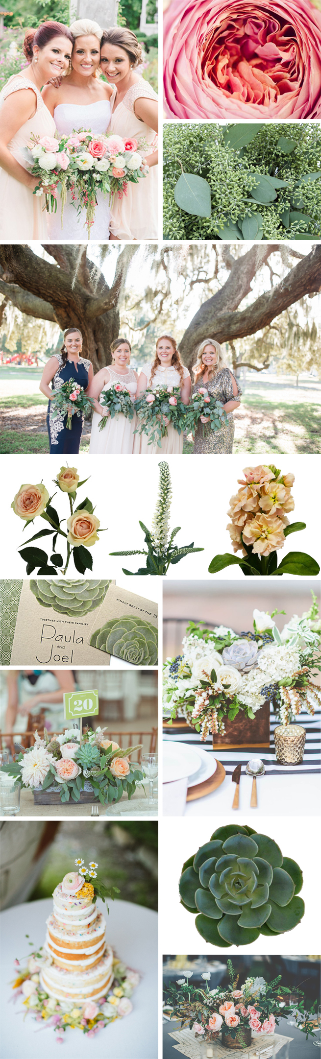 Modern Garden - 2015 Wedding Flower Trend