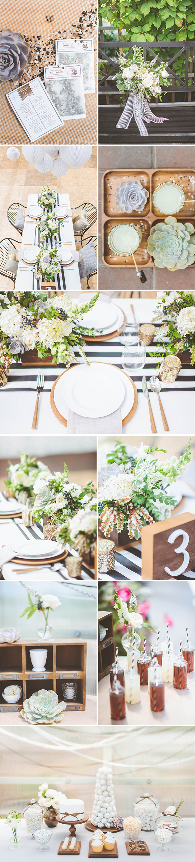 Rue's Birthday Bash! Event Styled by Confetti Pop - Floral design by Studio Fleurette with wholesale flowers by FiftyFlowers.com - Photos by Paper Antler