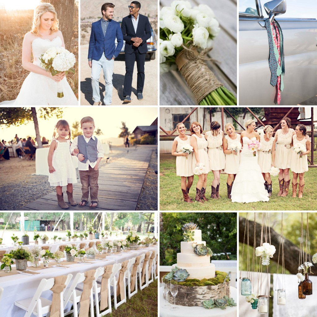Rustic Chic Groom Style